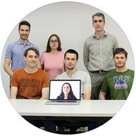 Investigardors del grup de Sistemes, Robòtica i Visió